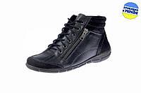 Женские классические кожаные туфли inblu icos-f черные   весенние , фото 1