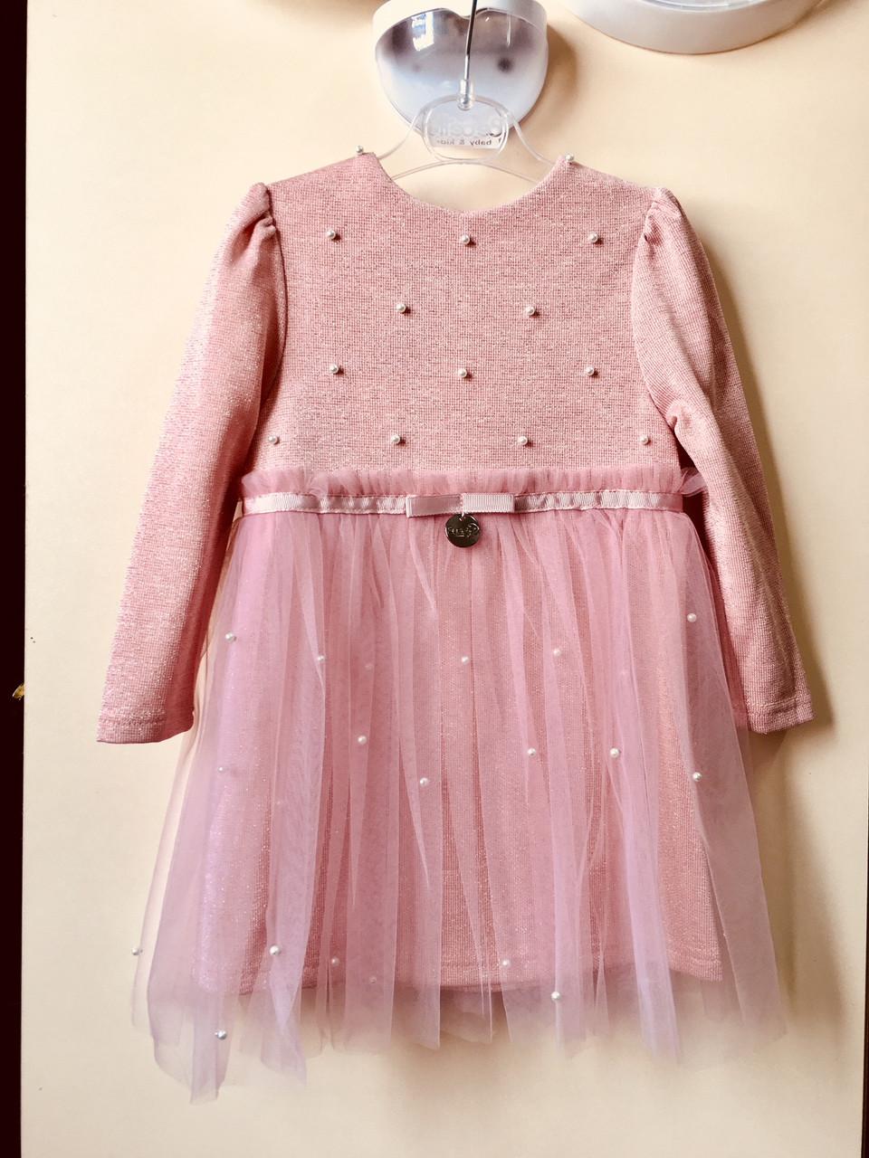 82c4d5b9ebd4312 Детское нарядное платье Ангелина Suzie, пудра, цена 415 грн., купить  Горишние Плавни — Prom.ua (ID#668266596)