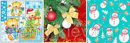 Салфетки бумажные сервировочные новогодние (Новый год) - 20шт/уп -