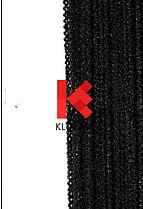 """Шторы - нити """"ОБЛАКА""""  c люрексом #9 Черный"""