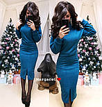 Женский костюм из ангоры: свитер и юбка с карманами (5 цветов), фото 3