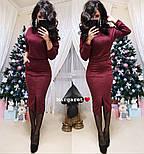 Женский костюм из ангоры: свитер и юбка с карманами (5 цветов), фото 5