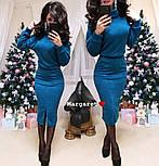 Женский костюм из ангоры: свитер и юбка с карманами (5 цветов), фото 8