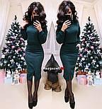 Женский костюм из ангоры: свитер и юбка с карманами (5 цветов), фото 7