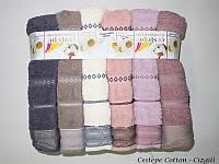 Набор полотенец Cestepe Vip Cotton Cizgili 70х140 6шт, фото 1