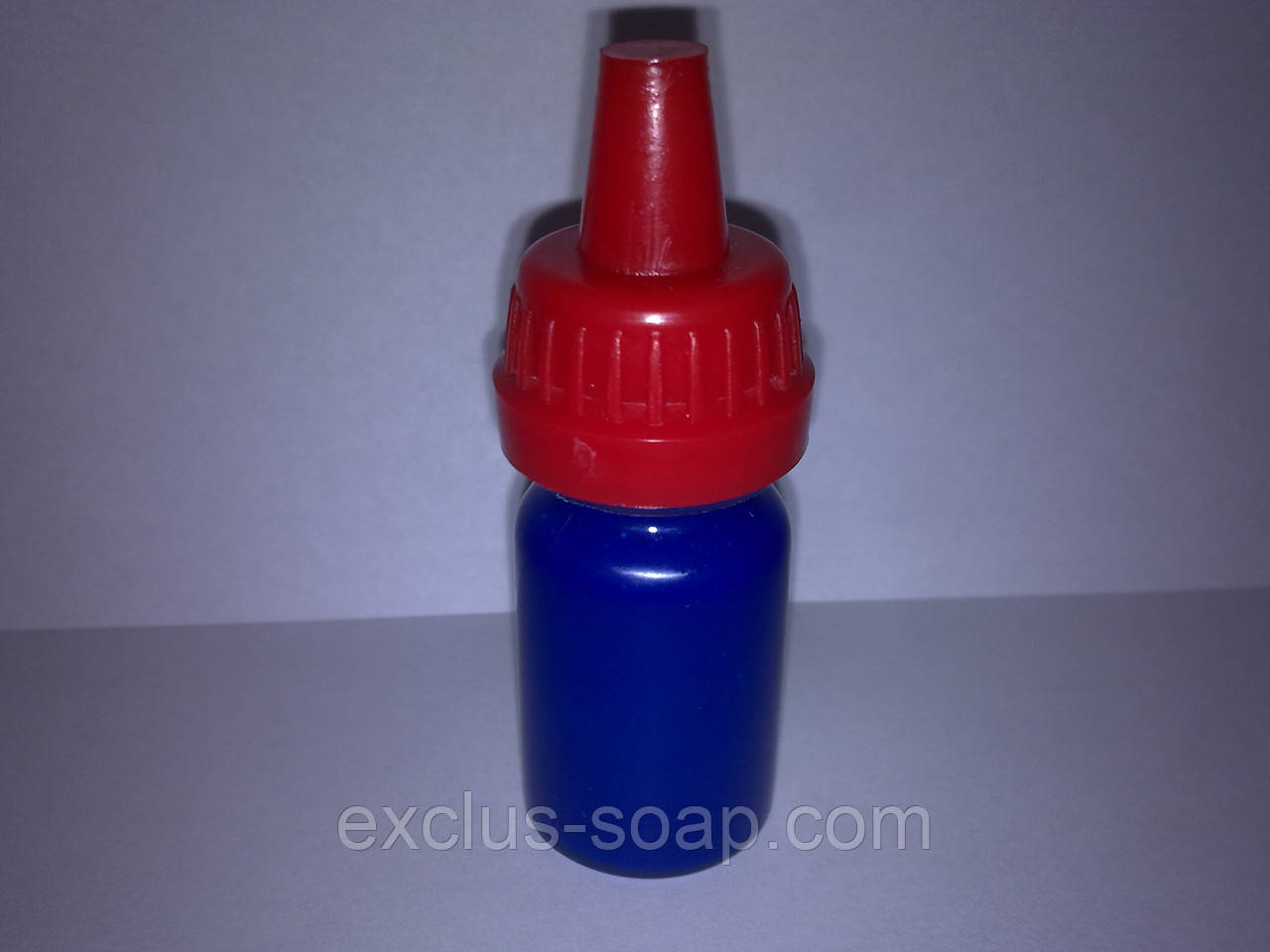Пигмент жидкий флуоресцентный синий-10 мл