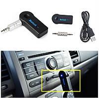 Аудио адаптер Bluetooth AUX 3.5 мм в автомобиль, ресивер для автомагнитолы