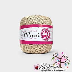 Пряжа Макси Maxi Madame Tricote, №4660, беж