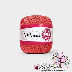 Пряжа Макси Maxi Madame Tricote, №4910, т. коралл