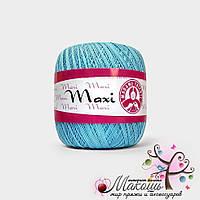 Пряжа Макси Maxi Madame Tricote, №5353, св. бирюза