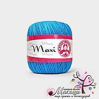 Пряжа Макси Maxi Madame Tricote, №5519, бирюза