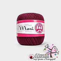 Пряжа Макси Maxi Madame Tricote, №5537, спелая вишня