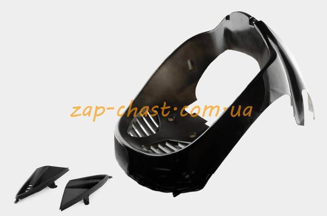 Пластик   VIPER STORM 2007   передний (подклювник)   (черный)   KOMATCU, фото 2