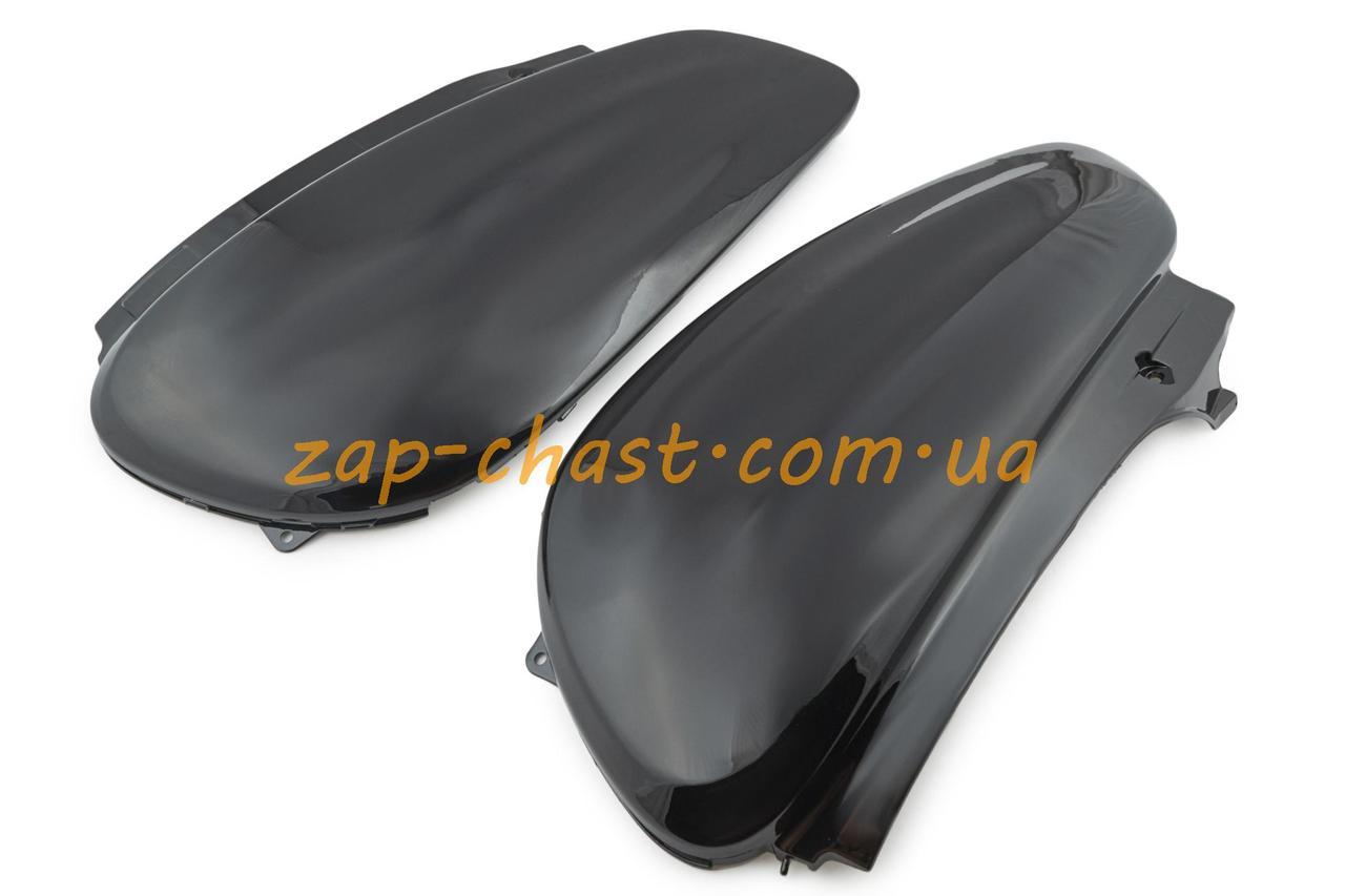Пластик   Yamaha JOG SA04   задняя боковая пара   (черный)   KOMATCU