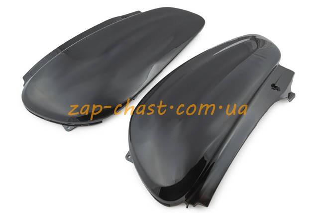 Пластик   Yamaha JOG SA04   задняя боковая пара   (черный)   KOMATCU, фото 2