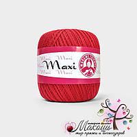 Пряжа Макси Maxi Madame Tricote, №6328, красный