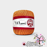 Пряжа Макси Maxi Madame Tricote, №6350, оранжевый