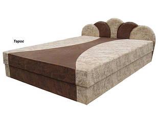 Ліжко з підйомним механізмом з м'якою спинкою в спальню Флірт (з матрацом)160х200 Віка