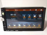 """Автомагнитола 2Din Pioneer 7022CRB 7"""" Сенсор, Bluetooth, USB, FM+ Пульт на руль+Рамка+Шахта"""
