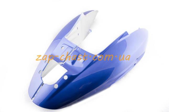 Пластик   Zongshen RACE 2/4   задняя боковая пара   (синий)   KOMATCU, фото 2