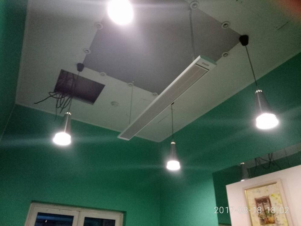Инфракрасный обогреватель потолочный с терморегулятором