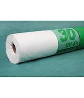 Агроволокно белое 1,6 x 100 м плотность 30 г/м. кв. Agreen