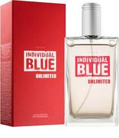 Туалетная вода Individual Blue Unlimited, 100 мл Мужские духи индивидуал блю Анлимитед