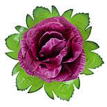 Букет роз из атласа, 37см, фото 3