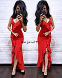 Женское изящное легкое платье с воланами (3 цвета), фото 3