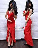 Женское изящное легкое платье с воланами (3 цвета), фото 5