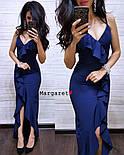 Женское изящное легкое платье с воланами (3 цвета), фото 6