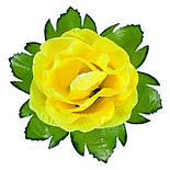 Букет роз из атласа, 37см, фото 4