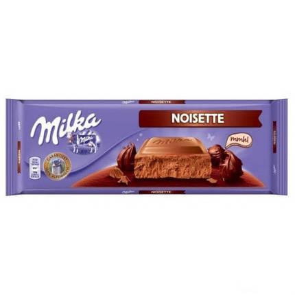 Шоколад Milka Noisette  300гр. Австрия, фото 2