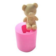 """Молд кондитерский силиконовый """"Мишка"""" - размер молда 4,8*5,5см"""