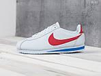 Мужские кроссовки Nike Cortez (бело/красные), фото 2