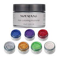 Окрашивающий воск для волос Mofajang Красный