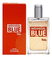 Туалетная вода Individual Blue You Avon, 100 мл Мужские духи Индивидуал Блу Ю Эйвон