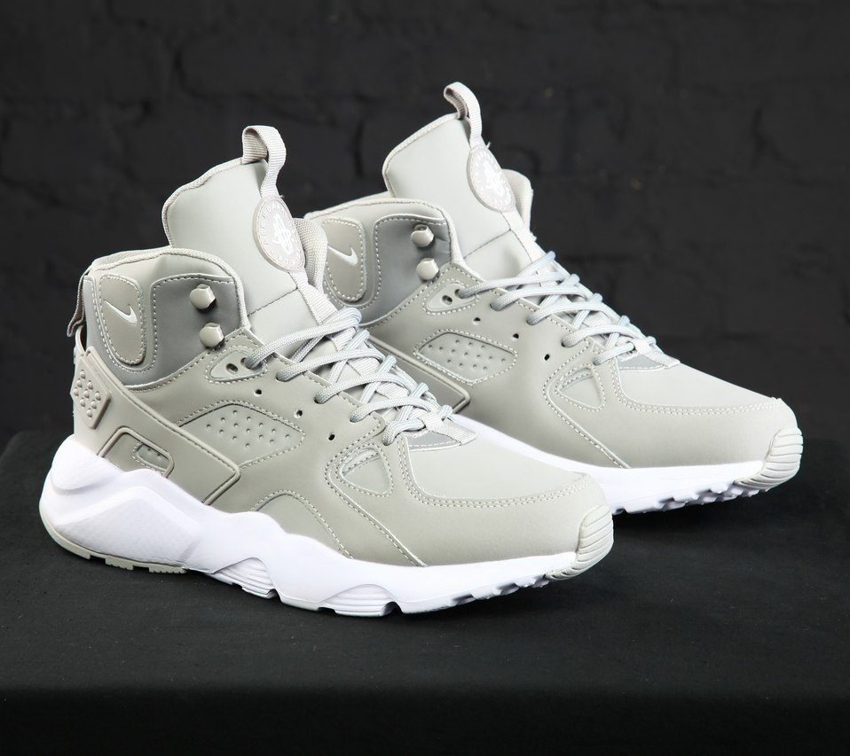 b072f81d Кроссовки в Стиле Nike Huarache Winter Grey Мужские — в Категории ...