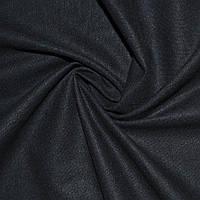 Лен стрейч сине-черный ш.134 (18600.002)