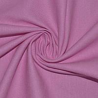 Лен стрейч розовый ш.134 (18600.009)