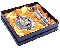 """Подарочный набор с флягой для мужчин 4в1 """"Jim Beam"""" 150 мл"""