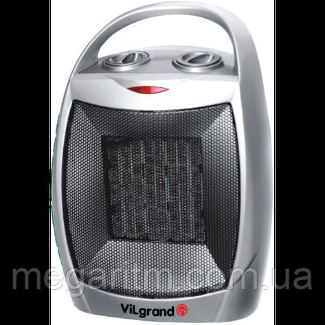 Тепловентилятор керамiчний (1,5 кВт; 3 режима: холод/750/1500; термостат) ViLgrand VFС155, фото 2