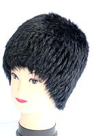 Жіноча хутрова шапка з хутра кролика