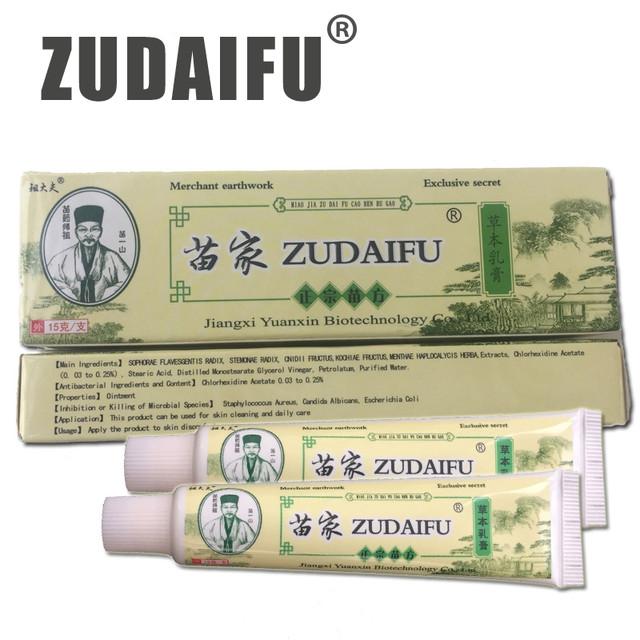 Крем от псориаза Zudaifu Зудайфу