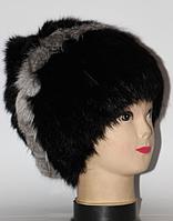 Женская модная меховая шапка из кролика