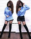 Женский свитер ангора травка свободного кроя (в расцветках), фото 4