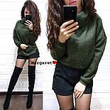 Женский свитер ангора травка свободного кроя (в расцветках), фото 8