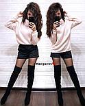 Женский свитер ангора травка свободного кроя (в расцветках), фото 9