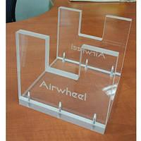 Акриловый демонтсрационный стенд Airwheel для моноколеса (01.08.M-00-L13-01A)
