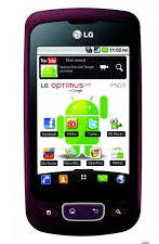 LG_P500, глянцевая пленка Optimus One